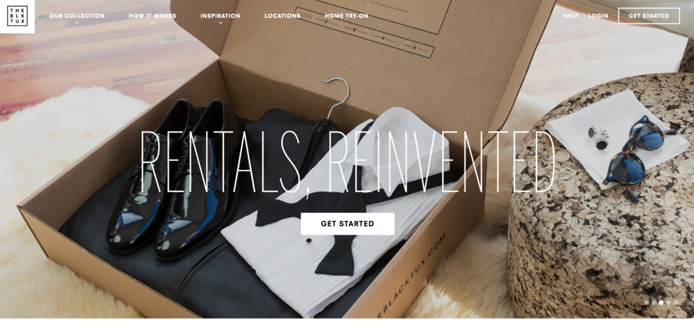 The Black Tux - Tux rentals - suit rentals