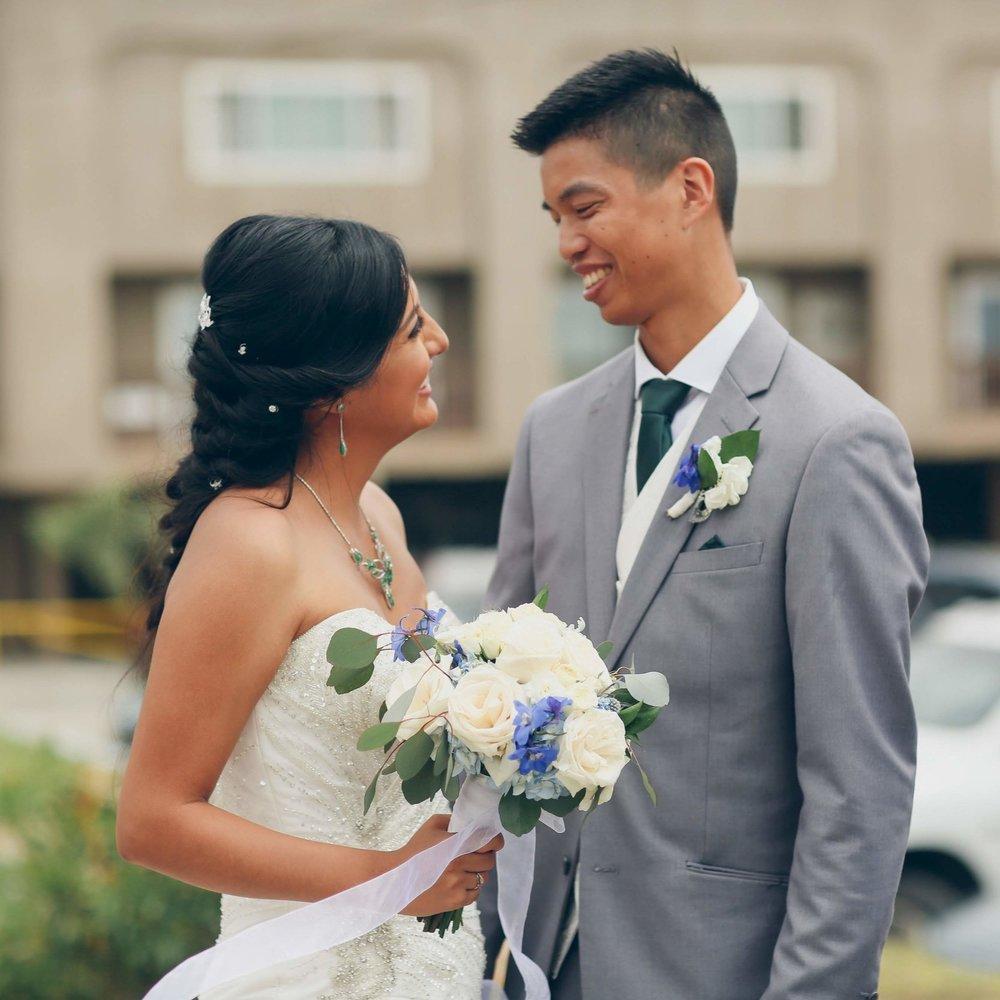 Brian + Nathalie - Wedding Florals - Floral Design - Ashley Hur - Hip Hip Hooray Dot Love