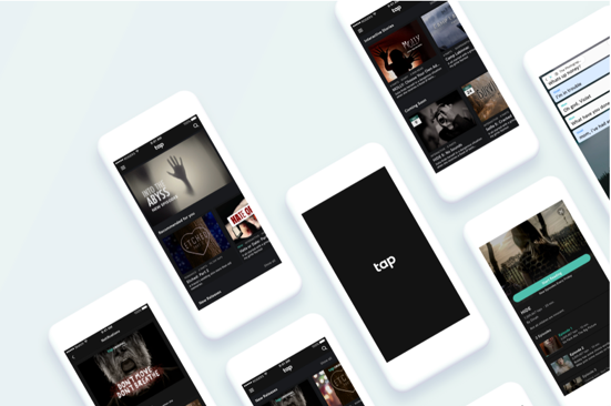 Tap: Content Reorganization   [ux design / research]