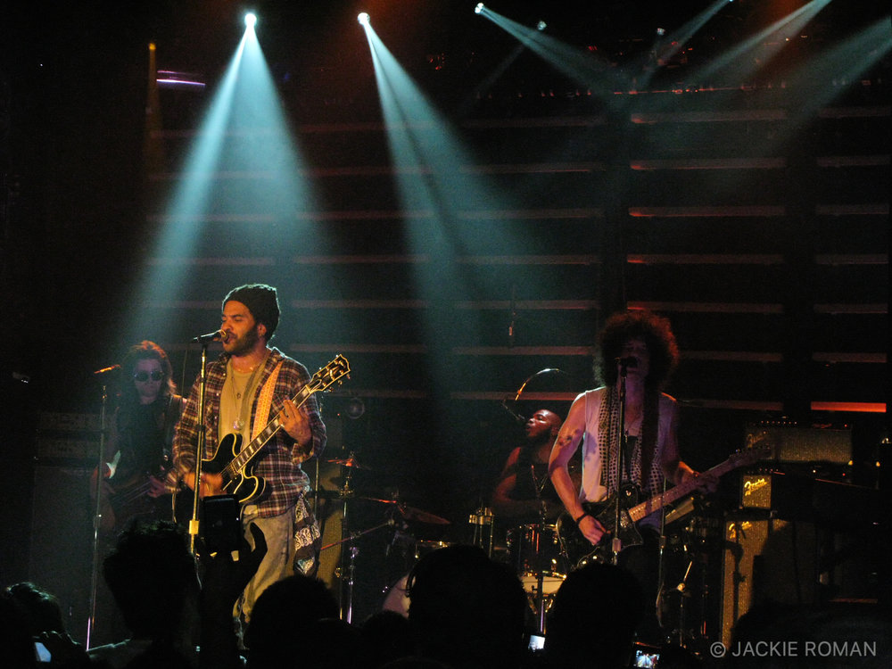 Lenny Kravitz performing at The Fillmore New York at Irving Plaza on October 11, 2009.