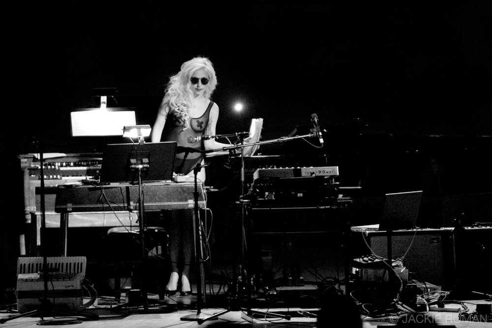 Lady Gaga performing at the Gavin Friday Benefit,  Carnegie Hall, New York, October 3rd, 2009.