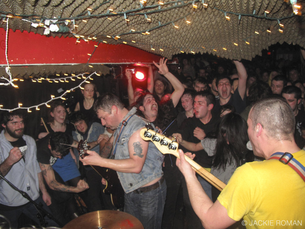 The Spits performing at Cakeshop in New York, 2012.