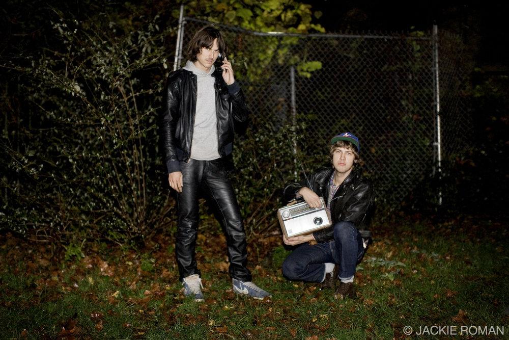 JEFF the Brotherhood at Maxwell's in Hoboken, NJ, November 14th, 2009.
