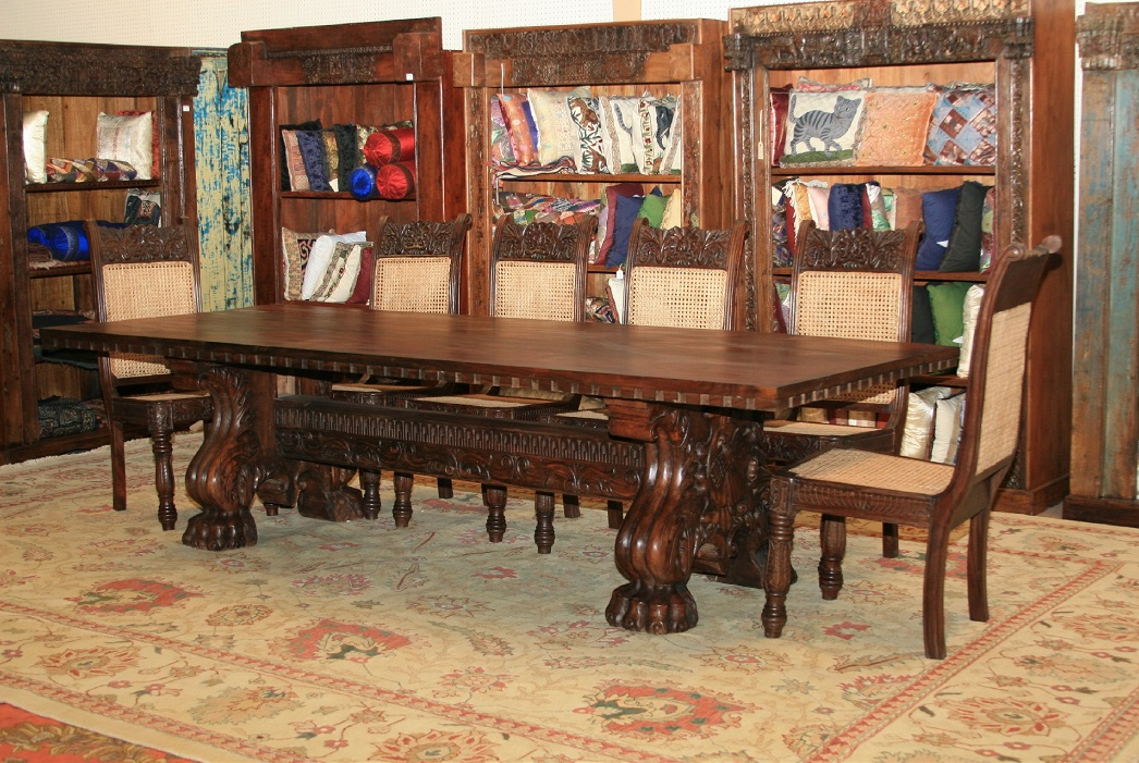 Transport yourself to this exotic country with 19th Century Dutch Colonial  Teak Wood Cabinets, 1850 Ebony & Satin Wood Cabinet, 1930 Leopard Chairs,  ... - Colonial Furniture — Bungalow Antiques