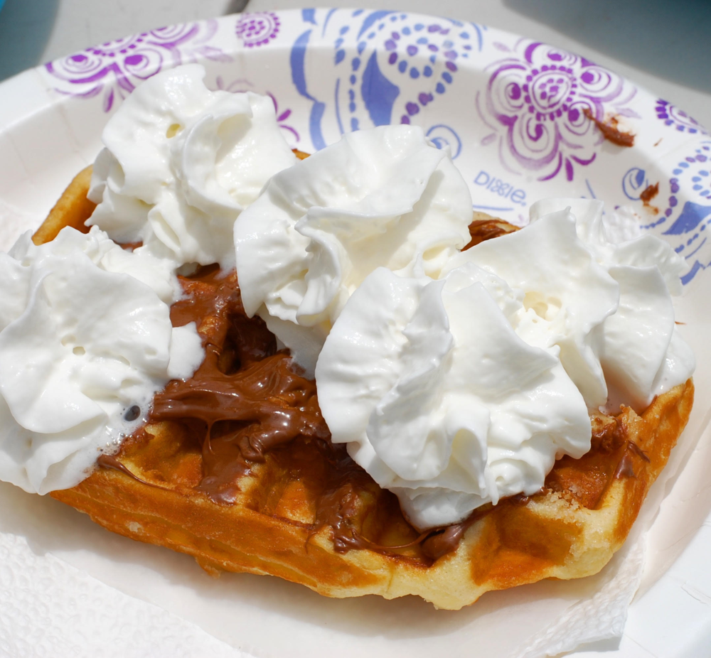 Belgian Delights- Frites and Waffles -