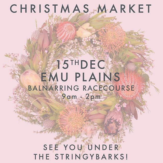 🌲Christmas Market🌲 The last market before Christmas is going to be a good one! Tick everything off your shopping list and support your local makers and shakers!✨ We have very limited stock available so get in quick!✨ . . . #christmasmarket #christmas #giftsforher #giftsforfriends #christmasgifts #seeyouunderthestringybarks #underthestringybarks #market #makersmarket #marketlife #treatyourself #myKíT #KíTaccessories #keepittogether #lifestyleaccessories #mornington #morningtonpeninsula #onlinestore #neoprene #sportsluxe #veganaccessories #emuplainsmarket #supportsmallbusiness #supportlocal