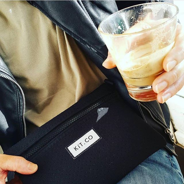• KíT and coffee • A great combo featuring @ajdark 👌🏻 . . . #coffee #coffeetime #caffeine #caffeinehit #monday #mondaymood #Kítedup #neoprenebag #greyisthenewblack #neoprenebagset #travel #travelaccessories #treatyourself #myKíT #KíTaccessories #keepittogether #lifestyleaccessories #mornington #morningtonpeninsula #supportlocal #localmakers #smallbusiness #supportsmallbusiness #onlinestore #neoprene #sportsluxe #veganaccessories