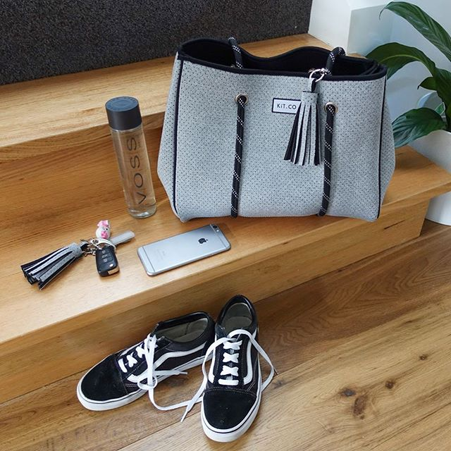 • grey to go • Grey is the new Black and perfect for summer! Tap to shop! 👆🏻 . . . #grey #greyisthenewblack #summeraccessories #treatyourself #myKíT #KíTaccessories #keepittogether #lifestyleaccessories #mornington #morningtonpeninsula #supportlocal #melbournedesign #businesschicks #businesschicksau #onlinestore #neoprene #sportsluxe #veganaccessories #machinewashablebags #machinewashable