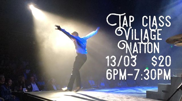 Last minute class notice! This coming Wednesday I'm doing an open class. #tapdance #tap #dance