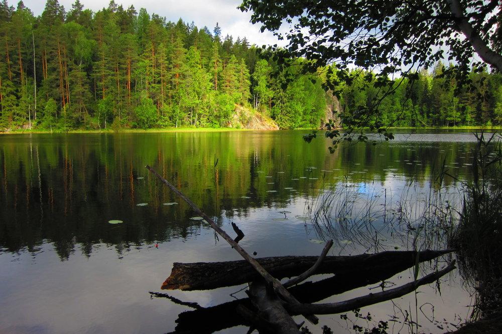 Beautiful lake close to Helsinki