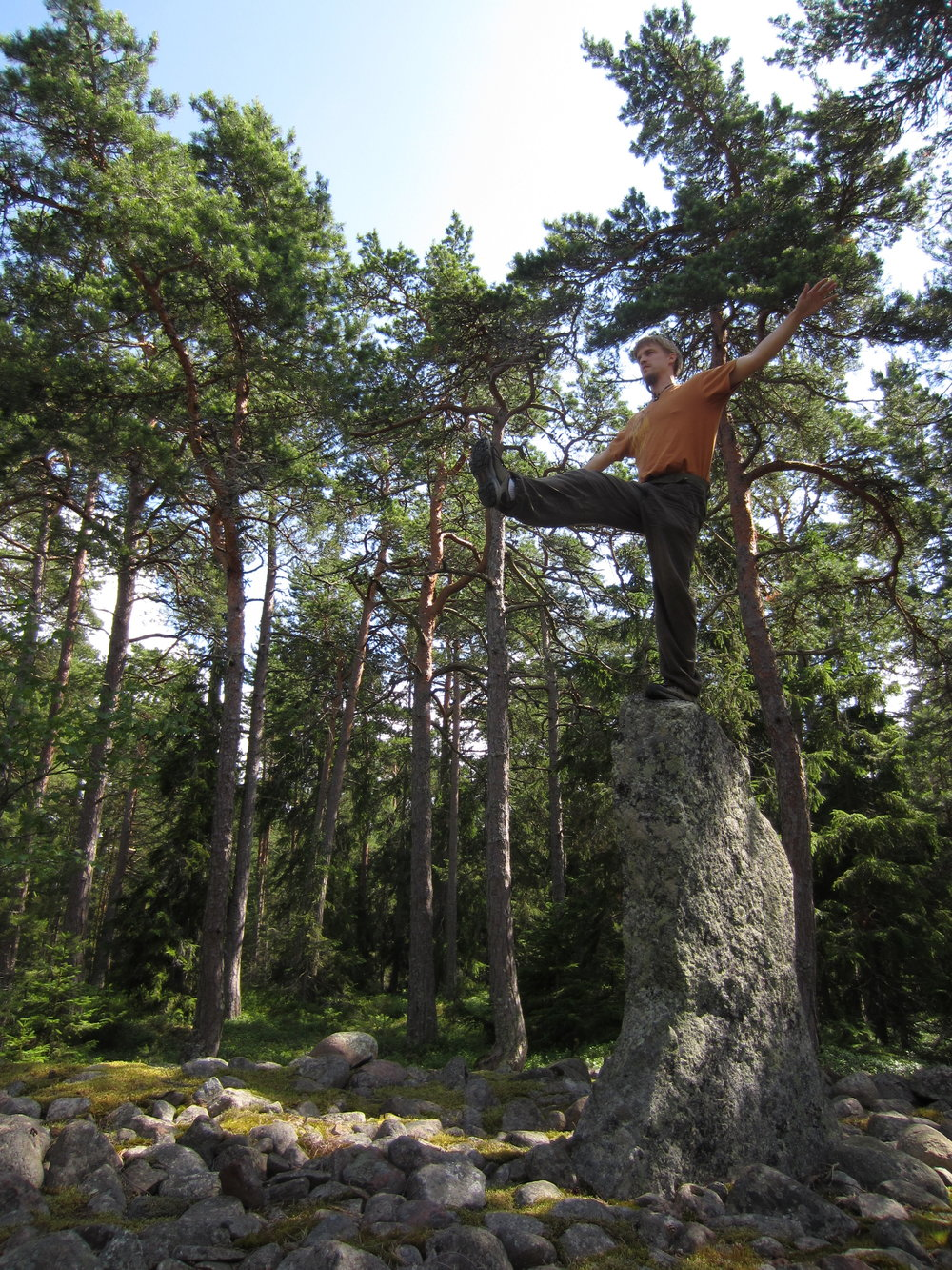 Helsinki yoga in nature