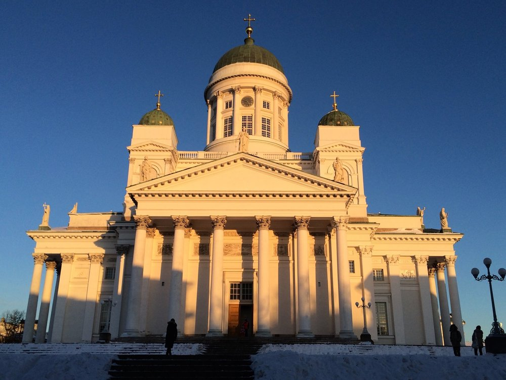 Helsinki Cathedral  was built from 1830 to 1852 and was known as St Nicholas' Church until the year 1917.