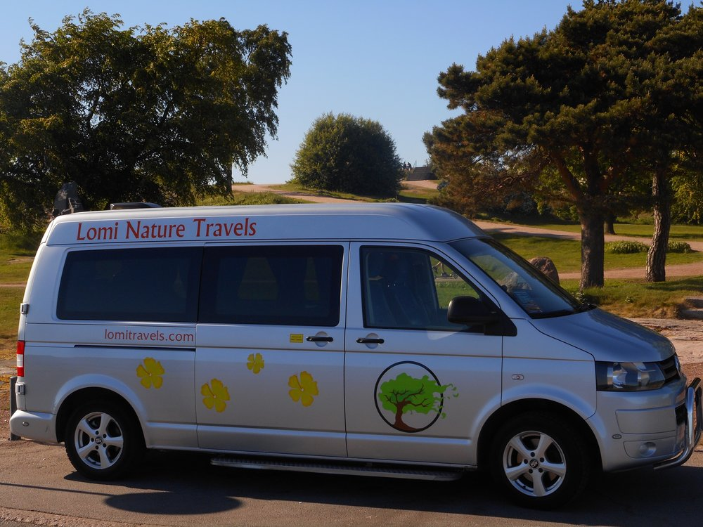 Minibus nature trips from Helsinki