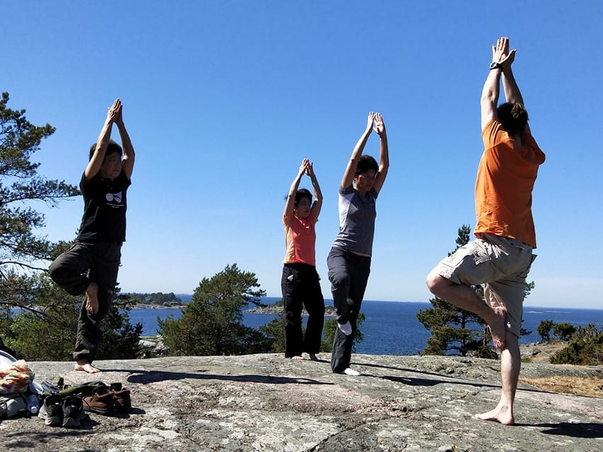 Amazing Porkkala Peninsula Forest Yoga