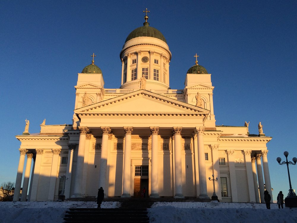 Helsinki sightseeing trip and Helsinki Cathedral