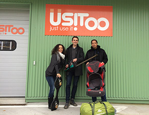 3 top talents, Benoît, Sahid and Delphine, joined the big Usitoo family to refine your service