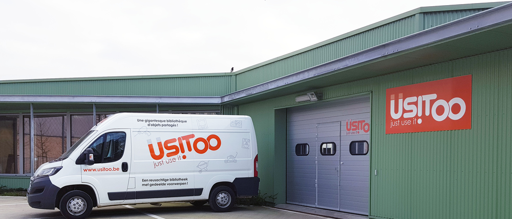 Usitoo recycling recy-k Anderlecht