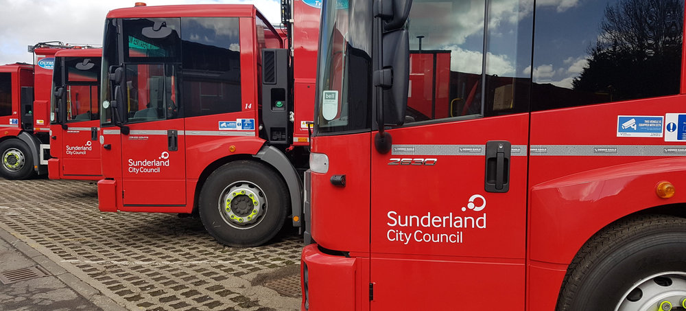 SUNDERLAND CITY COUNCIL FLEET