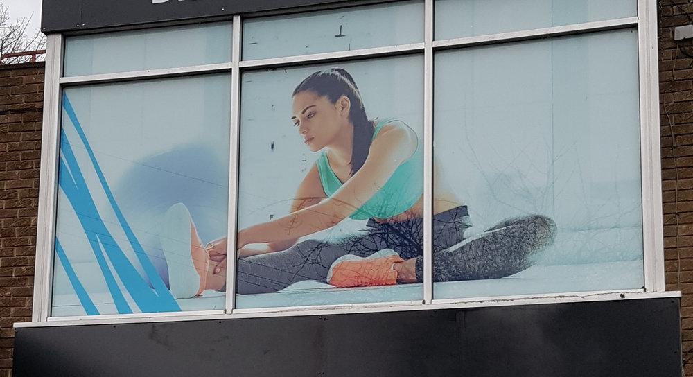 DURHAM COUNTY COUNCIL   Full digital print window graphics.
