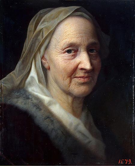 Balthasar Denner: Porträt einer alten Frau