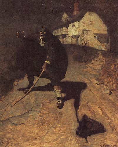 """Old Bew"" by N.C. Wyeth / An American Vision: Three Generations of Wyeth Art"