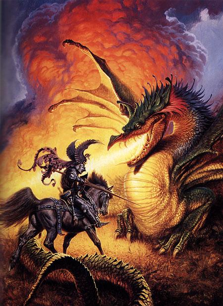 Villains by Necessity / Darrell K. Sweet: Beyond Fantasy - Art of Darrell K. Sweet