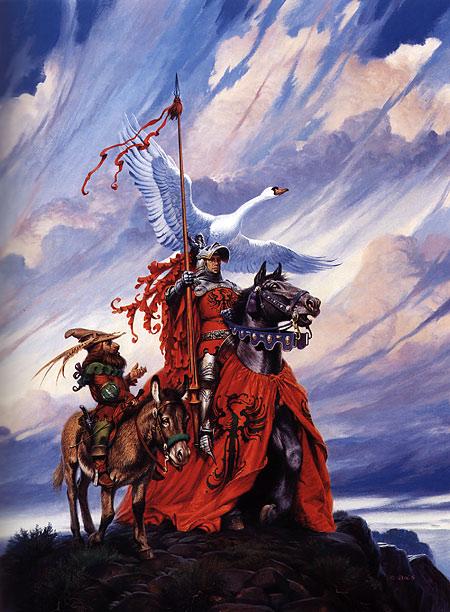 Three Hearts and Three Lions / Darrell K. Sweet: Beyond Fantasy - Art of Darrell K. Sweet