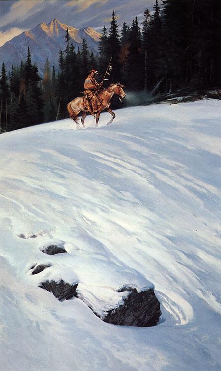The Watcher / Darrell K. Sweet: Beyond Fantasy - Art of Darrell K. Sweet