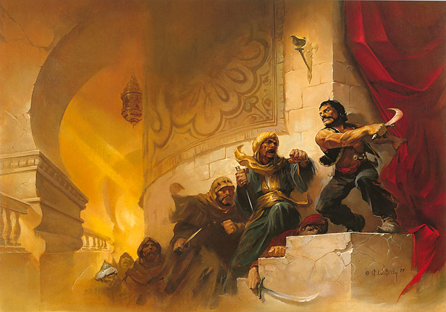 Swords of Arabia / The Art of Ken Kelly