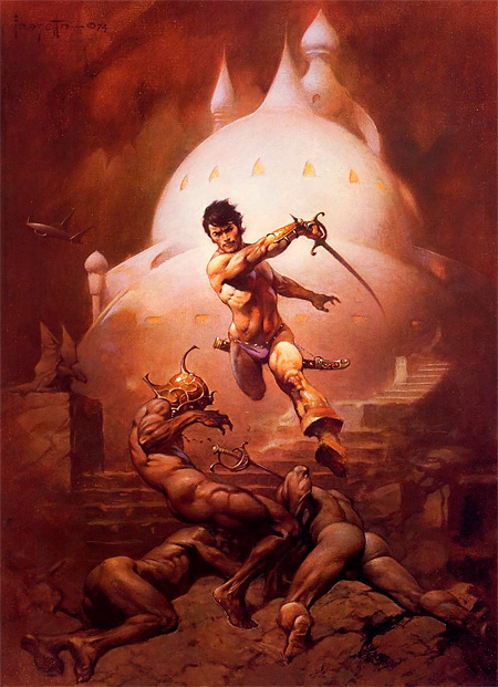 Frank Frazetta: Swords of Mars