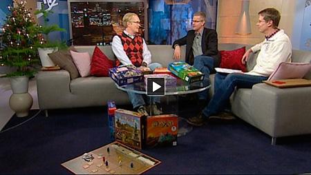 Ykkösen aamu-tv: Lautapelit pitävät jouluna pintansa