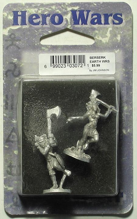Earth Warriors -miniatyyrit