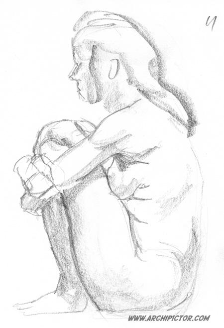 croquis 16/11/2012, kuvittaja / illustrator Ossi Hiekkala