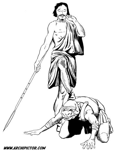Heroquest, kuvittaja / illustrator Ossi Hiekkala n. 2002