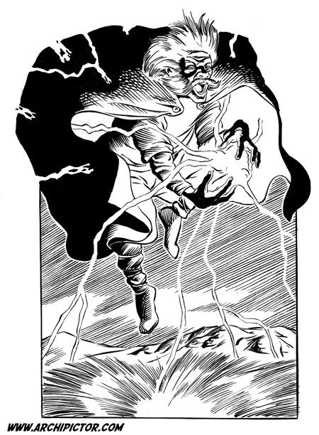 Velho tms., kuvittaja / illustrator Ossi Hiekkala n. 2002