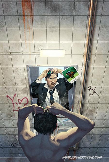 Fake ID, kuvittaja / illustrator Ossi Hiekkala 2009