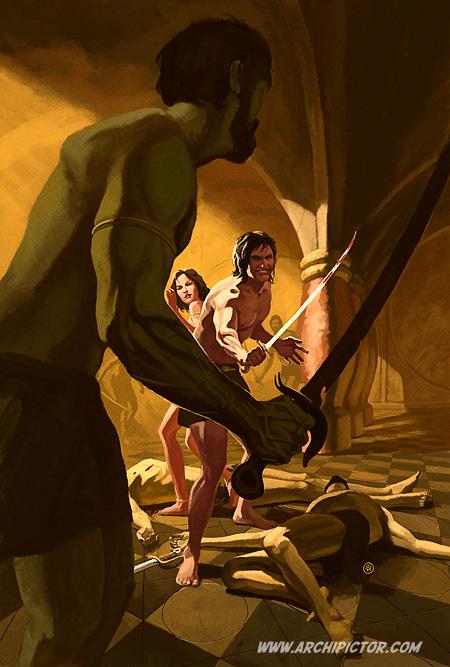 Marsin sotavaltias, kuvittaja / illustrator Ossi Hiekkala 2012