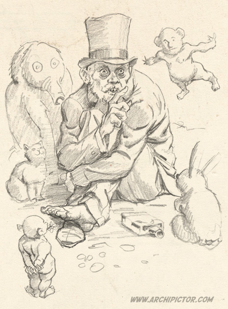 Kuvittaja tarinoi todellisuudestaan; kuvittaja / illustrator Ossi Hiekkala 2012