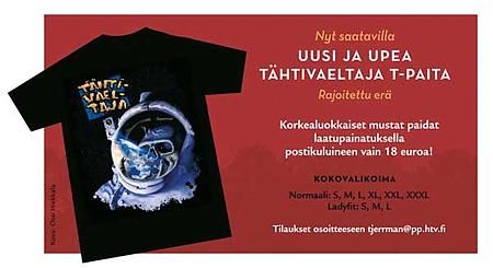 Tähtivaeltaja T-paita / T-shirt