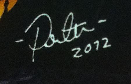 Taiteilijan signeeraus