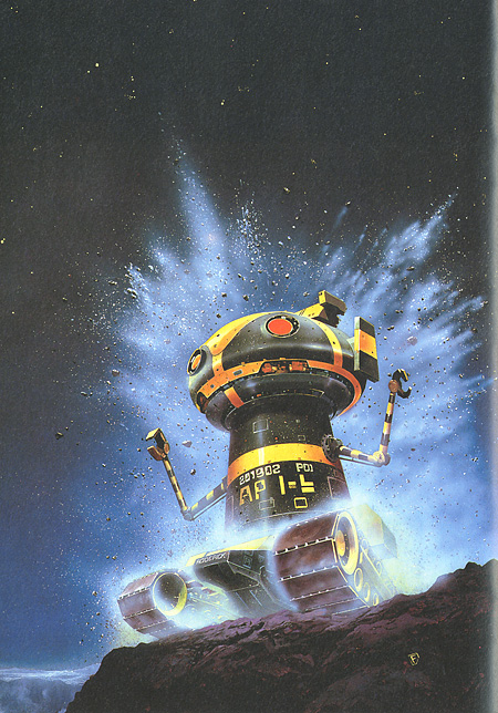 Chris Foss: Diary of a Spaceperson