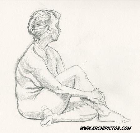 croquis 10/09/2013, kuvittaja / illustrator Ossi Hiekkala