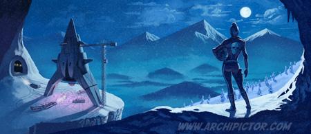 Heavy Rockets, kuvittaja / illustrator Ossi Hiekkala 2014