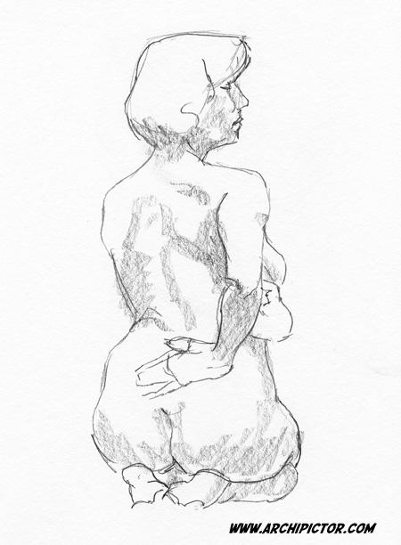 Croquis 11/02/2014, kuvittaja / illustrator Ossi Hiekkala 2014