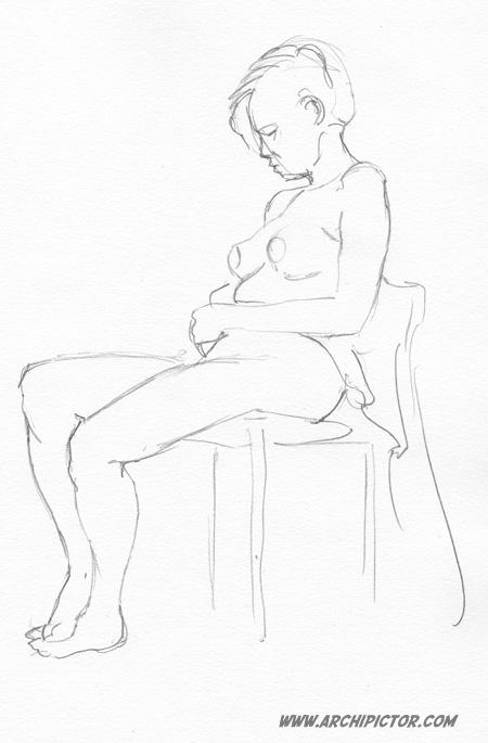 Croquis, kuvittaja / illustrator Ossi Hiekkala 2014