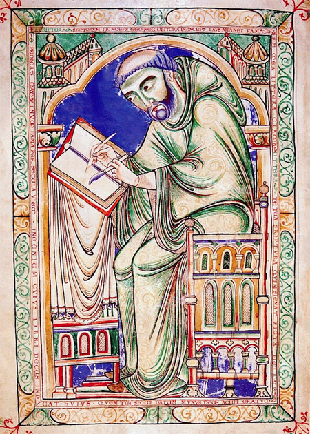 Eadwine Psalter, n. 1147, Wikimedia Commons