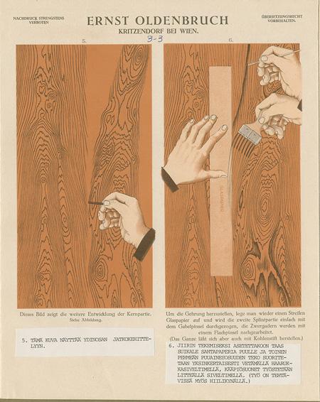 Grosse Schule der Holz- und Marmormalarei, Ernst Oldenbruch 1926