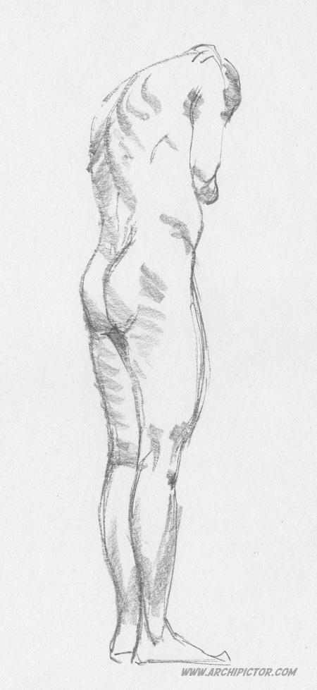 Croquis Taidehalli 091214, kuvittaja / illustrator Ossi Hiekkala