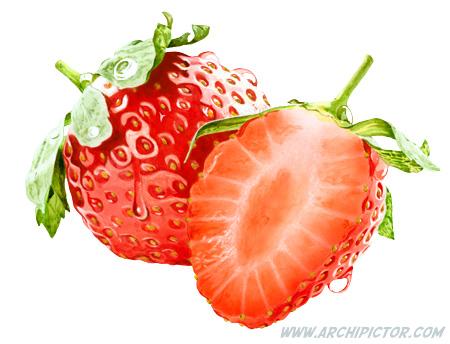 Strawberry, kuvittaja / illustrator Ossi Hiekkala 2015