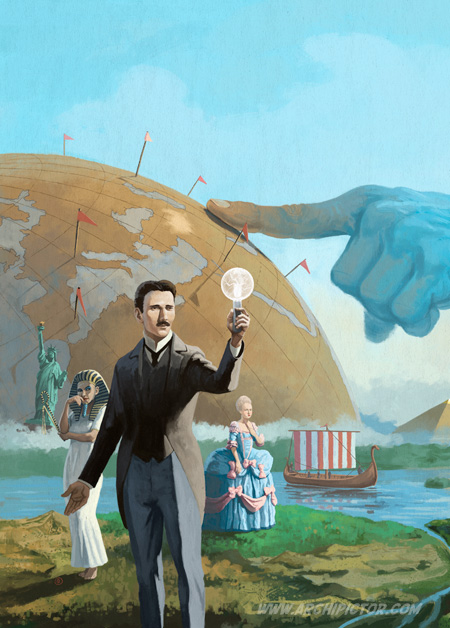 Nations the Dice Game, kuvittaja / illustrator Ossi Hiekkala 2014